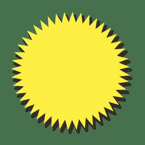 Wannenwetsch Slider Stern Gelb